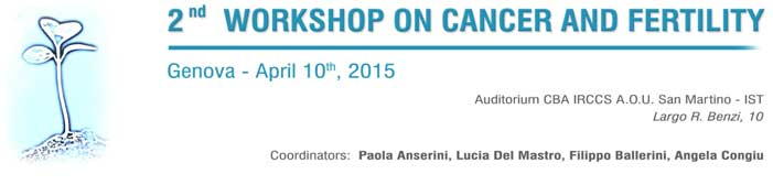 2° Workshop on Cancer and Fertility